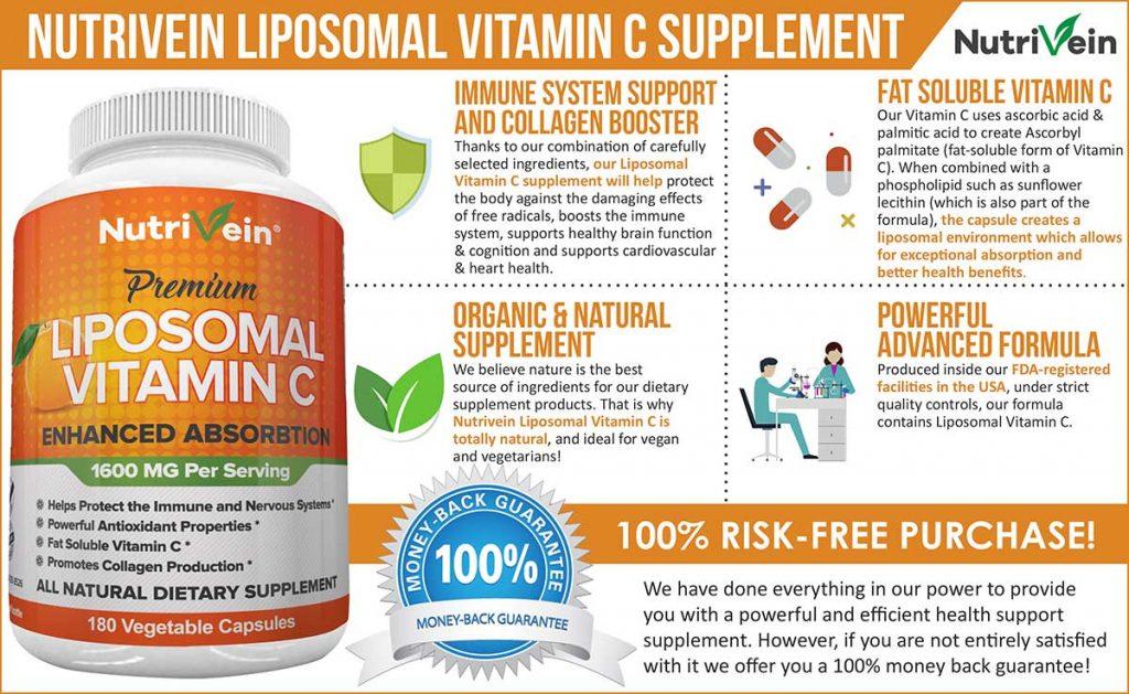 Liposomal Vitamin C Supplement Advanced Formula